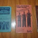 1938年Lee発行と1939年鉄道労働者組合発行 Time Book