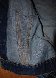 Right V Stitch backside