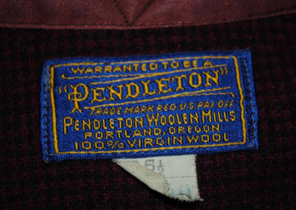 ヴィンテージ ペンドルトン ウールシャツの年代の見分け方