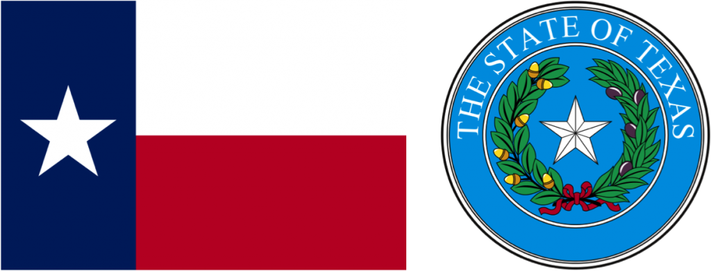 State of Texas Flag and Seal