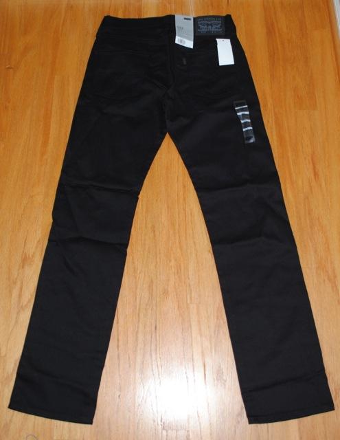 現行リーバイスUSモデル 511 Sta-Prest Trouser ブラック