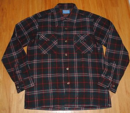 推定デッドストックのウールシャツについて