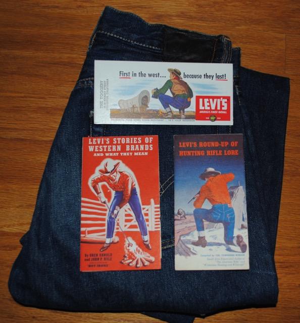 1940年代後半から50年代のリーバイス 販促品 – 小冊子