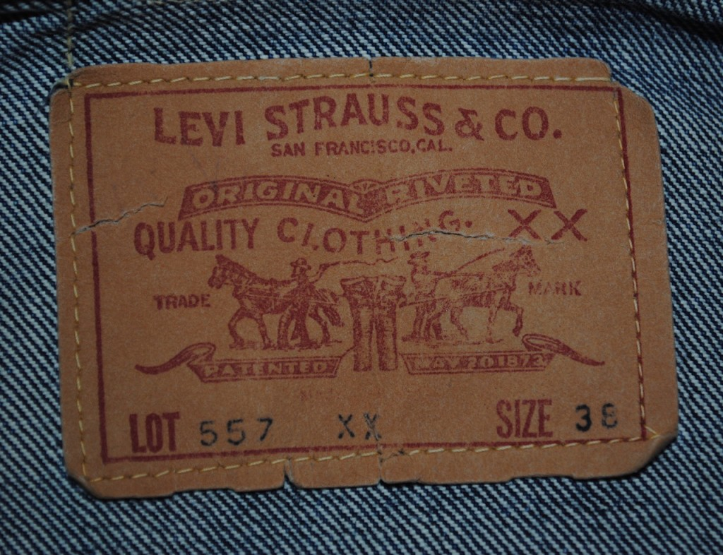 Levis 557XX Paper Patch
