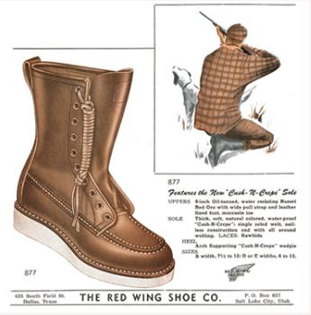 1950年代のレッドウイング・アイリッシュセッターの代表モデルと特徴