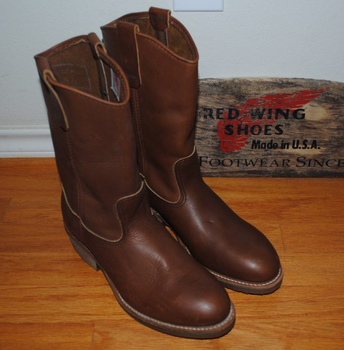 80s Red Wing Pecos 2265 Dead Stock 7E