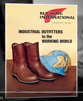 Red Wing International Display Sign
