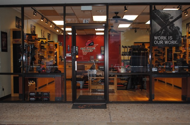 Red Wing Store Entrance