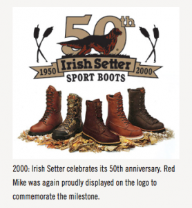 Irish Setter 50th anniversary