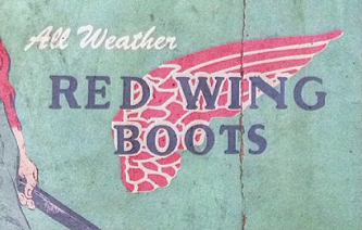 1949年レッドウィングの広告についての考察