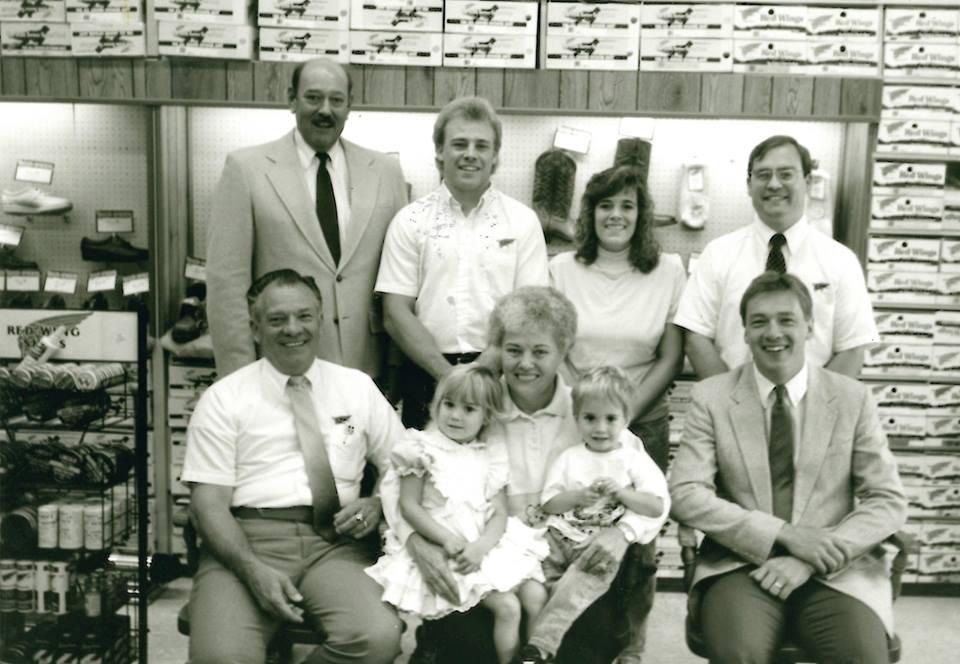 カリフォルニアの3代に渡る家族経営のレッドウィング販売店