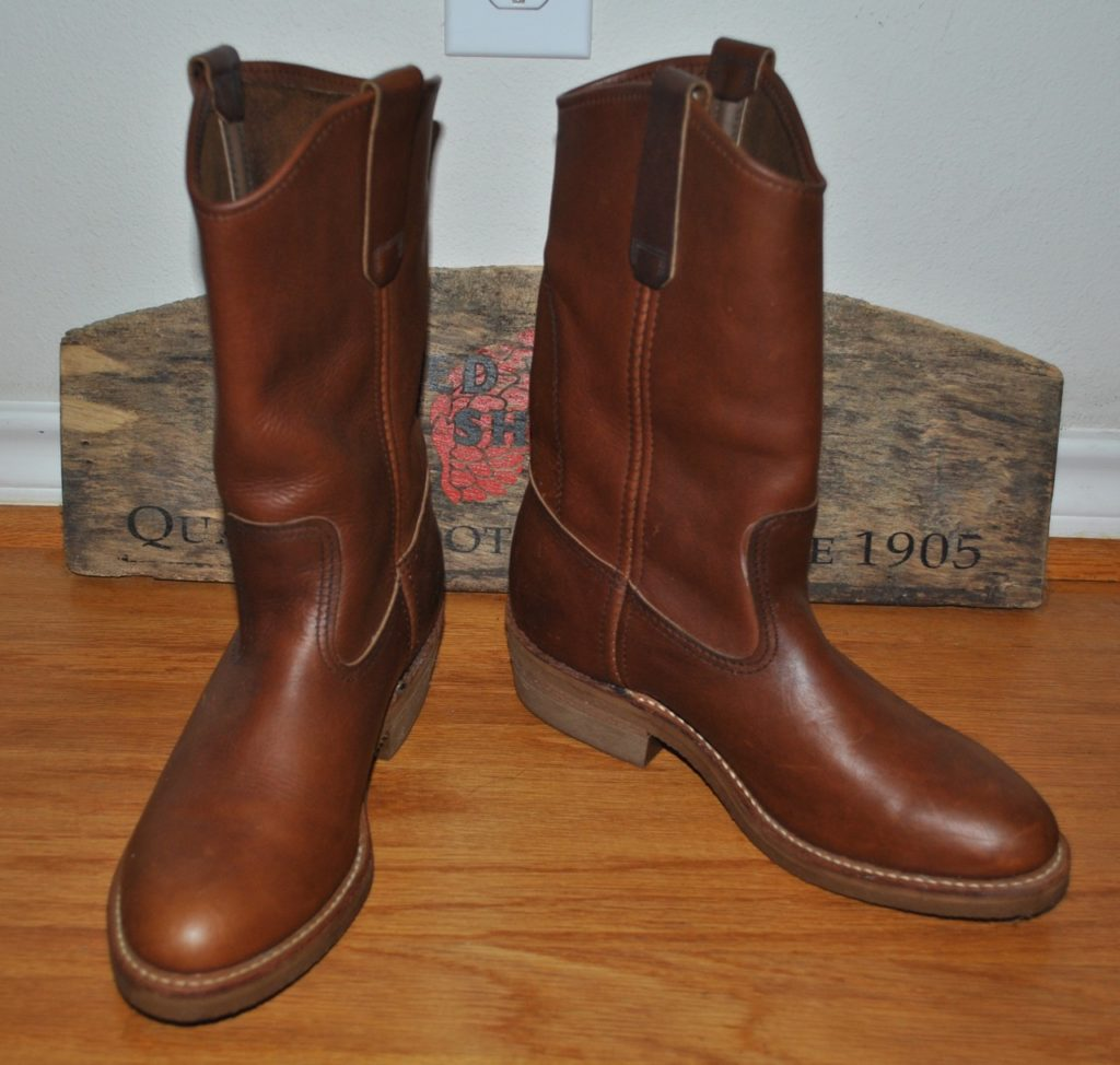 80s Red Wing Pecos 1155