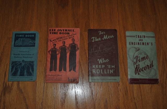 1930年代後半から1950年代前半までの鉄道労働者向けTime Book