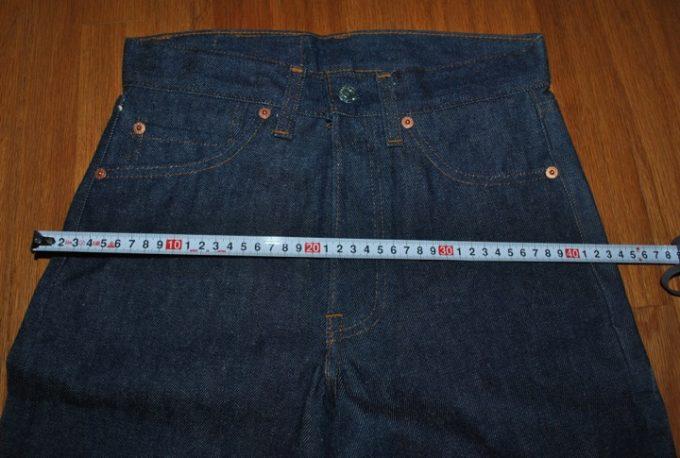 デッドストック 1984年製 リーバイス 501 W27-L27 ヒップ実寸約86cmです