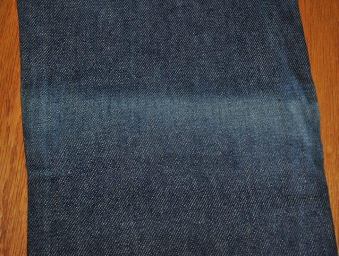 デッドストック 1984年製 リーバイス 501 W27-L27 右膝裏退色箇所
